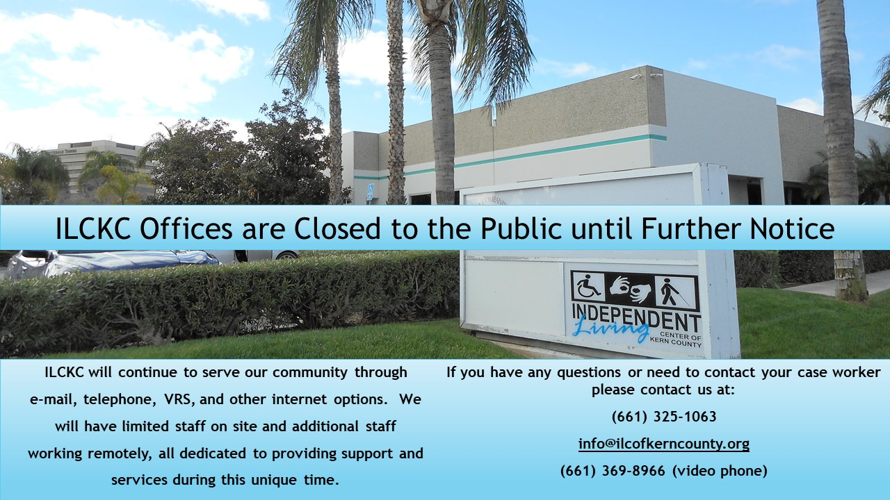 ILCKC offices closed until further notice